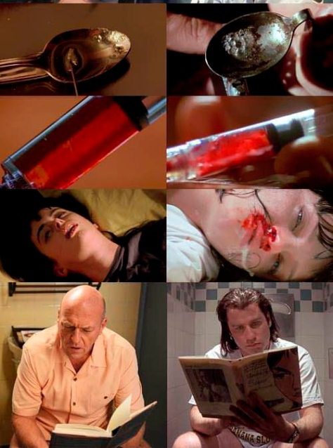 similitudes entre breaking bad y pulp fiction