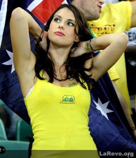 fanatica brasileña