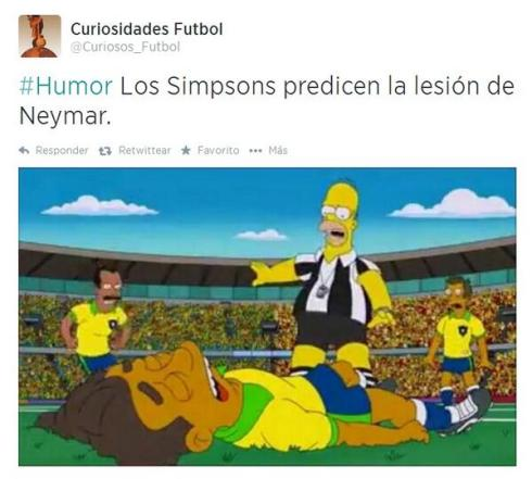 neymar simpsons