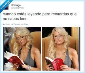 cuando estas leyendo