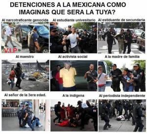 detenciones a la mexicana