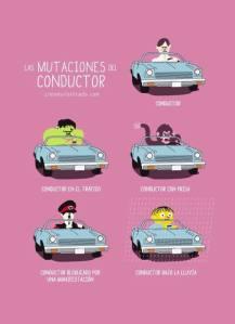 mutaciones del conductor