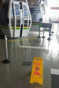 prohibido sexo en cabinas