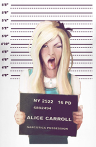 alice arrested