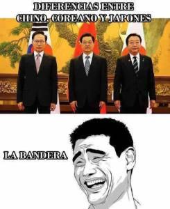 diferencia entre chino coreano y japones
