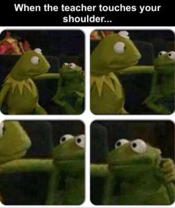 cuando el maestro toca tu hombro