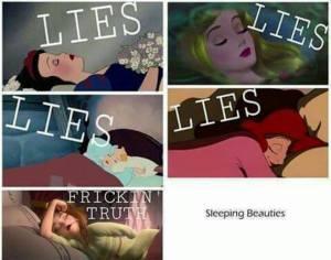como duermen las princesas