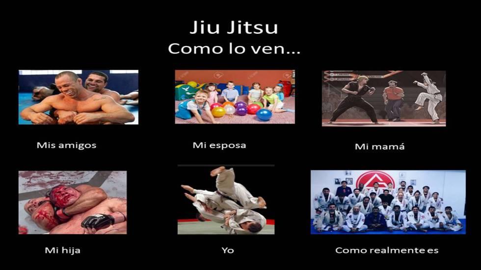 Jiu Jitsu como lo ven y como realmente es