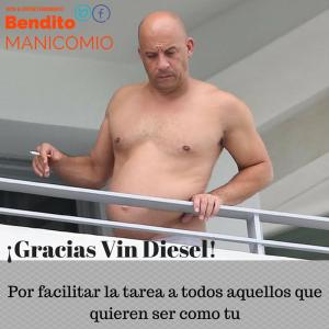 Gracias Vin Diesel